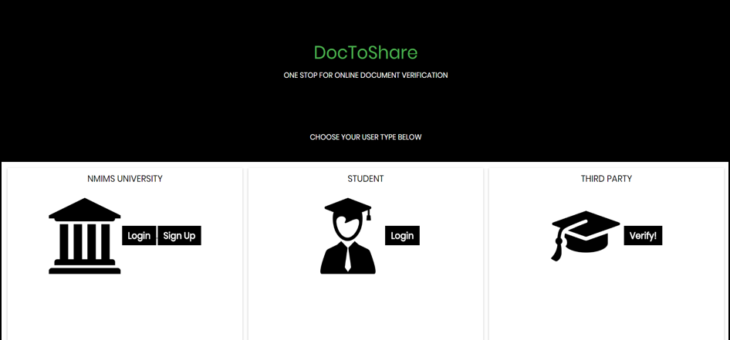 DocToShare: Document Verification